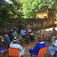 Focus group with caregivers